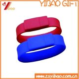 Hot Sale Silicone 8GB USB Silicone Wristband for