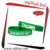 Promotion Price Fashion Custom Green Silicone Wristband