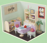 Mini Furniture Wooden Doll House Bar