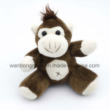 Stuffed Monkey Toy Pendant with Suction Cup Universal for Children and Adults