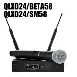 Qlxd24/Beta 58A and Qlxd24/Sm58 Wireless Microphone Mic in High Quality with Good Price