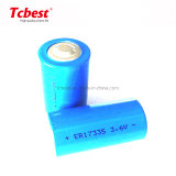 Manufacturer/Factory 3.6V Lithium Battery Er17335 2100mAh Non Rechargeable Lithium Thionyl Chloride Battery Li-Fepo4