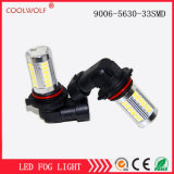 Factory Direct Sales LED Day Lamp 9006-5630-33SMD Lamp with Lens Fog Lamp off-Road Vehicle Modified Lamp Anti-Fog Lamp Highlighting