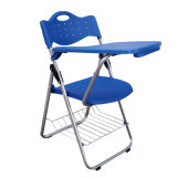 Cheap Resin Folding Training Chair with Tablet