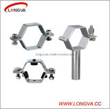 Hexagonal Shape Stainless Steel Fitting Pipe Clamp Support