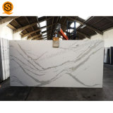 Engineered Quartz Stone Sheets Artificial Quartz Tile and Slabs 15mm Thickness