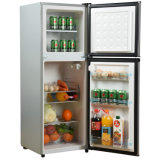 128L Home Refrigerator Double Doors Freezer and Refrigerator Cabinets
