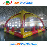 Outdoor Commercial Inflatable Water Pool Special Swimming Pool with Tent
