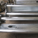 Galvanized Steel Used Street Lamp Pole Single Arm/Double Arm