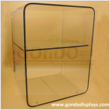 Clear 3-Tiers Bedside Acrylic Furniture Bedside Table with Customized Packaging