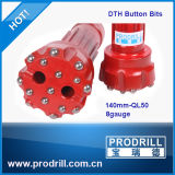 High Quality Rock Drill Bit& Rock DTH Bit with Ql50-140mm