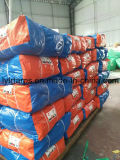Finished Blue/Orange PE Tarpaulin Sheet, Truck Cover Tarpaulin