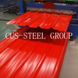 Central African Republic Single Profile Roofing Panel/Trapezoidal Corrugated Cladding Sheet
