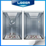 Mirror Etching Stainless Steel Passenger Home Freight Goods Elevator
