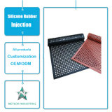 Customized Silicone Rubber Products Non Slip Rubber Mat Injection Mould