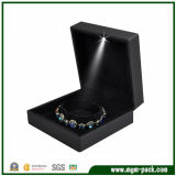 Luxury Square Black Packing LED Bracelet Box