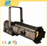 200W LED Profile Leko Ellipsoidal Projector Stage Light for Studio, Theater Spot Beam Lighting