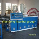 PE/PVC Double Wall Corrugated Pipe Extrusion Machine