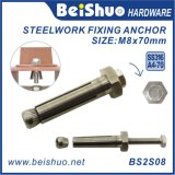Stainless Steel A4-70 Countersunk Head Steelwork Expansion Anchor Bolt