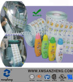 Water Resistant Translucent Permanent Household Cleaning Products Shampoo Bottle Labels