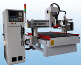 Woodworking CNC Router with Carrousel Type Atc