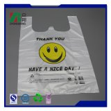 Manufacturer Price T Shirt Vest Handle Plastic Shopping Bag