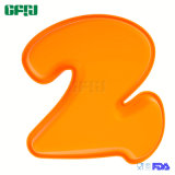 Easy Removal Food Grade Silicone Bake Mould Cake Number 2