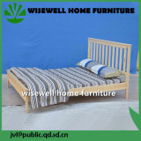 Pine Slatted Wooden Bed Designs (W-B-5037)