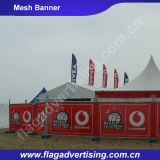 High Quality Advertising Hanging Flex Banner Stick to Wall