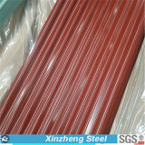 Prime Color Coated Corrugated Roof Steel Sheet in Coil