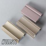 Customized Extruded Aluminium Profile of Powder Coated Doors and Windows