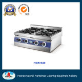 Commercial Stainless Steel 4-Burner Gas Stove (HGR-940)