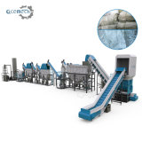 PP Woven Jumbo Bags LDPE PE PP Film Washing Cleaning Crushing Production Line Recycling Machine