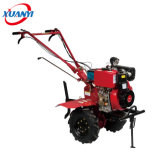 Good-Quality Cheap Diesel Mini Power Tiller Price 6.5HP Rotary Tiller Cultivator