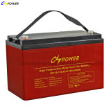 Cspower Hot 12V 110ah Deep Cycle Gel Battery for Solar