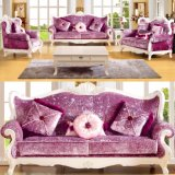Living Room Sofa / Wooden Sofa / Living Room Furniture Sofa (992C)
