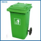 China Factory HDPE Outdoor Waste Bin, Trash Bin, Garbage Container, Garbage Bin, Plastic Dustbin with Wheels