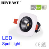 5W Square Aliuminum COB Black LED Downlight LED Lighting LED Spotlight