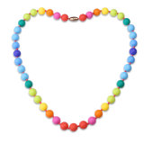 2017 New Fashion Silicone Necklace Children Fashion Jewelry