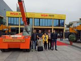 Unloading and Loading Crane with Easy Change Fork for Stone in China