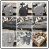 Cheap Grey /Black /Pink Rose Granite Carving/Flat/Engraving/Vases/Angel/Bench/Double Headstone for Graves/Monuments/Cemetery/Memorial