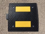 Best Quality Yellow Black Rubber Speed Bump for Sale