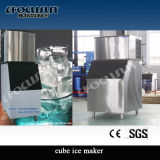 Stainless Steel Cube Ice Machine