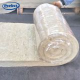 Builing Materials Thermal Heat Insulation Basalt Rock Wool Blanket with Wire Mesh 50kg/M3