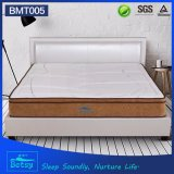 OEM Resilient Spring Mattress 28cm with Relaxing Pocket Spring Knitted Fabric and Memory Foam Layer
