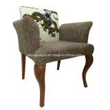 Upholstered Comfortable Metal Hotel Armrest Chair (JY-F21)