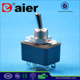 6 Pin Dpdt Mini on-on Toggle Switch 220V (KN3-3)