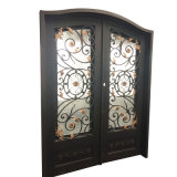 Hand Forged Exteriro Iron Doors for House