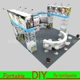 Hook & Loop Attached Aluminum Structure Portable Exhibition Fabric Display Equipment