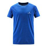 Wholesale 100% Polyester Golf Mesh Fabric Dri Fit Running Shirt